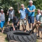 Men in Sheds working on various projects